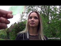German Scout - Schlankes Tattoo Teeny Monika ge...