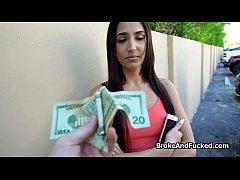 Broke teen needs cock n cash