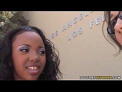 Lesbian Stace Lane Punishes Sin Sage