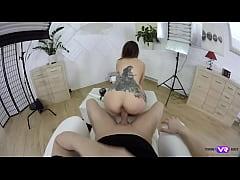 TmwVRnet.com - Ambika Gold- Tattooed babe gets ...