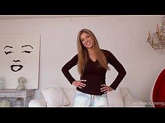 thumb sex video casti  ng of the stunning french bab ning french babe ing french babe