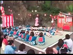 Strange Japanese sex festival - watch more at t...