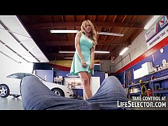 Car mechanic fucks sexy, horny babes - Hardcore...