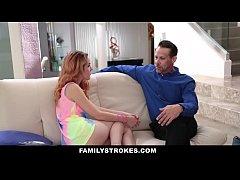 FamilyStrokes - Hot European Teen Seduced By Cr...