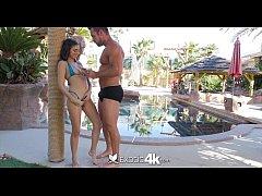 EXOTIC4K Latina Nina North shows off her beach ...