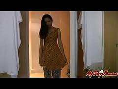 3506053 indian sexy beautiful babe jasmine takes off her bra
