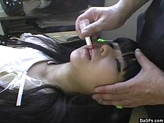 thumb obedient asian  doll