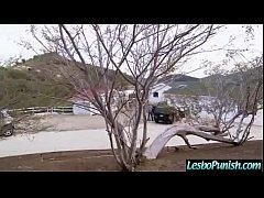 Hard Punishing Sex Between Wild Lesbos (jenna&layla) movie-19