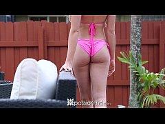 PASSION-HD Big tit Skyla Novea gets her pink pu...
