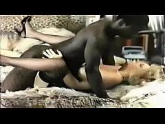 Retro Interracial Blonde Porn...