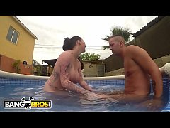 thumb bangbros   the big tits and round ass on this british milf will knock your socks off