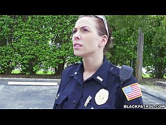Female cops pull over...