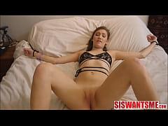 Helping Tiny Teen Stepsister Riley Mae Orgasm