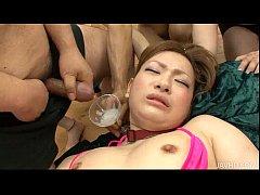 Huge Cum Cocktail for Japanese Angel Yukina Momose