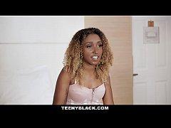 TeenyBlack - Gorgeous Ebony Teen Gets A Deep Di...