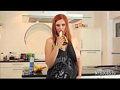 Busty Alexsis Faye housewife...