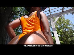 TeenCurves - Ebony Babe Bounces...