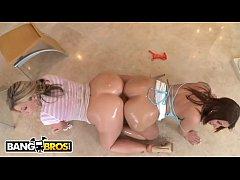 BANGBROS - Busty MILF Sara Jay & Lexxxi Lockhar...