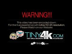 HD - Tiny4k Teen Kacy Lane shoves big cock in h...