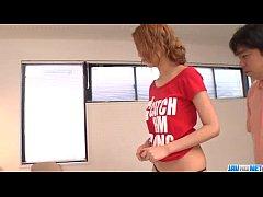 Kanako Kimura provides blowjob...