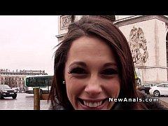Beautiful French girlfriend takes...