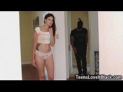 Teen Ravaged by Black Burglars!