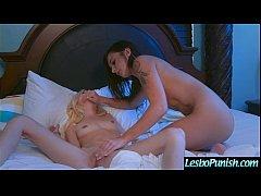 Punish Sex Action On Tape Between Lesbian Girls...