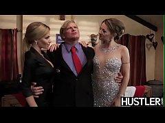 Lascivious Natasha Starr receives president coc...