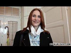 European redhead girl Alice...