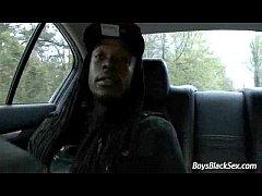 BlacksOnBoys -Gay Interracial Hardcore Fuck Video 23