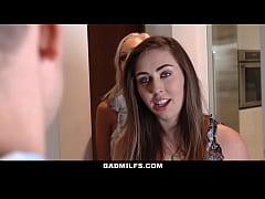 BadMILFS - Hot Blonde Stepmom Seduces Young Boy...
