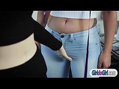 Lesbians Gabi Paltrova n...