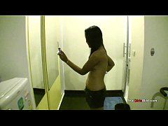 Horny Thai girl gives a lucky sex tourist some sex