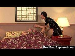 RealEmoExposed - Angelina wakes bf...