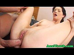 18yo enjoys analsex after foreplay
