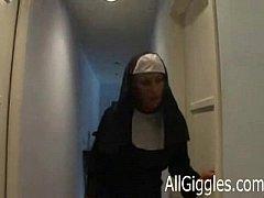 Interracial mature nun - Dana...