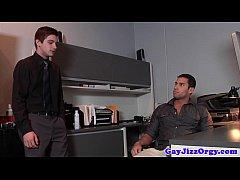 Gay orgy action jock...