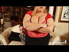 Sexy Fat Wife Minnie Mayhem Teases and Fucks St...