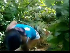 Indian ladki in jungle...