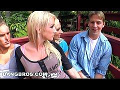 BANGBROS - Public Gangbang with Nadia Hilton, L...