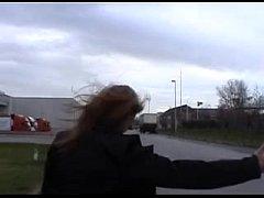 thumb vlaamse step hanie wordt geneukt in een auto belgian stephanie fucked in car
