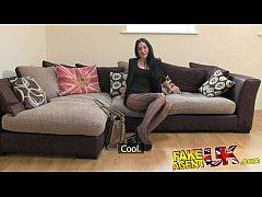 FakeAgentUK Sexy stocking clad...
