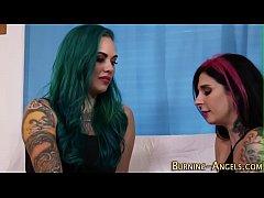 Hot tattooed slut fucked
