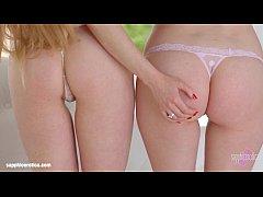 Misha Cross and Samantha Bentley anal lesbian l...