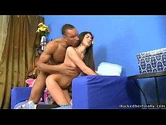 Hot Black Russian Pornstar ERIK Fucks Girl