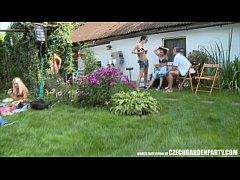 thumb czech pool garden orgy
