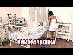 Slutty nurse Black Angelika...