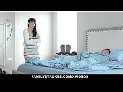 FamilyStrokes - Stepmom Pays Stepsister To Fuck...