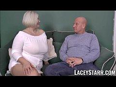 LACEYSTARR - Busty GILF negotiates a good pussy deal
