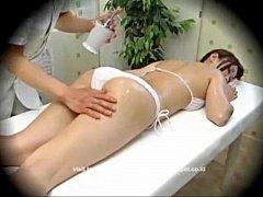 Model Seduced During Massage...